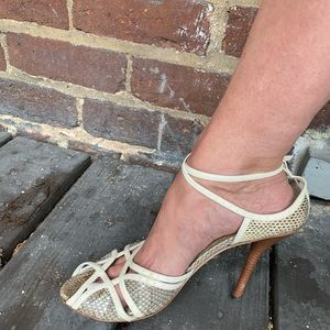 VTG 90s Tom Ford GUCCI snakeskin stilettos